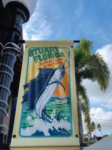 Stuart Florida with Sailfish Banner