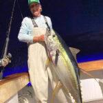 Caught a Yellowfin Tuna
