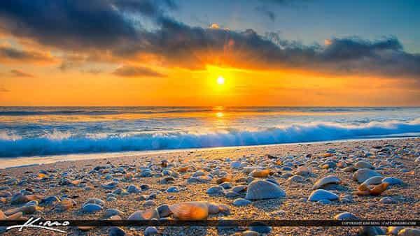 Hobe Beach Sunset